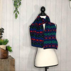 Vintage ARIS 80s 90s print scarf